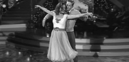 Dancing with the Stars Damian Whitewood and Tina Arena Viennese Waltz 4