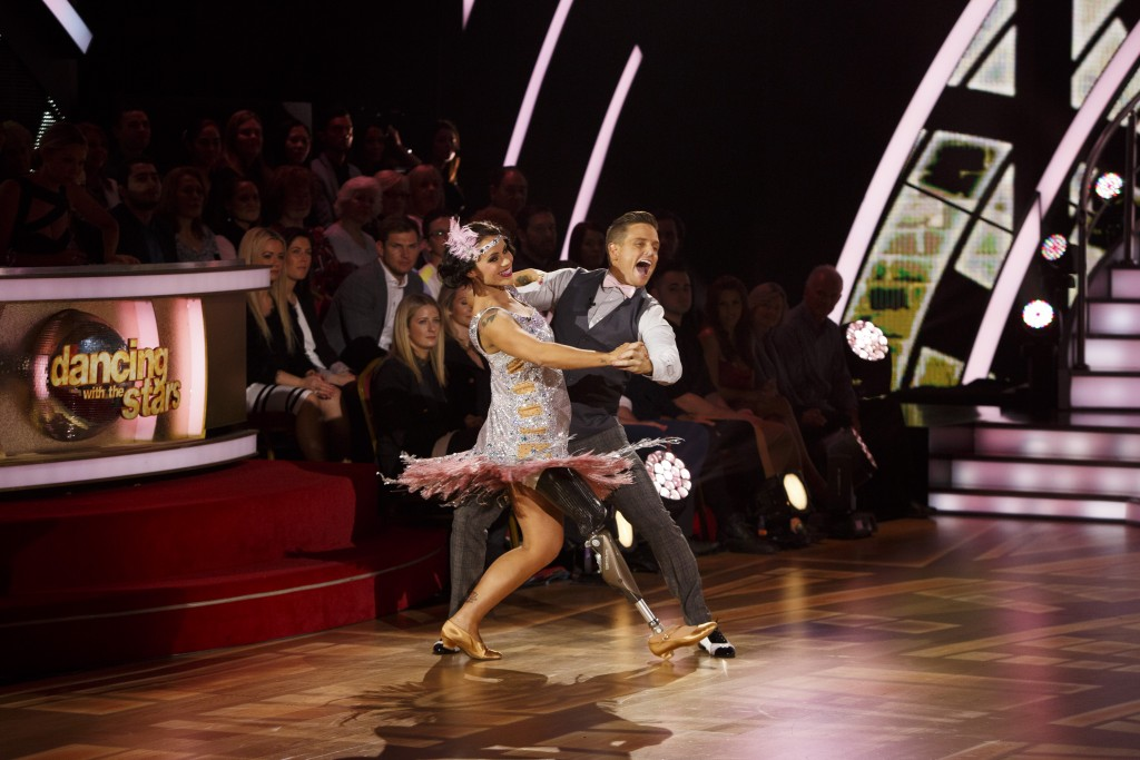 DWTS Damian and Kellys Quickstep Dance